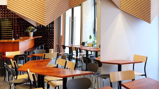 Anna Bar Restaurant Vue de la salle