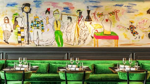 Le Schiap Restaurant Vue de l'intérieur