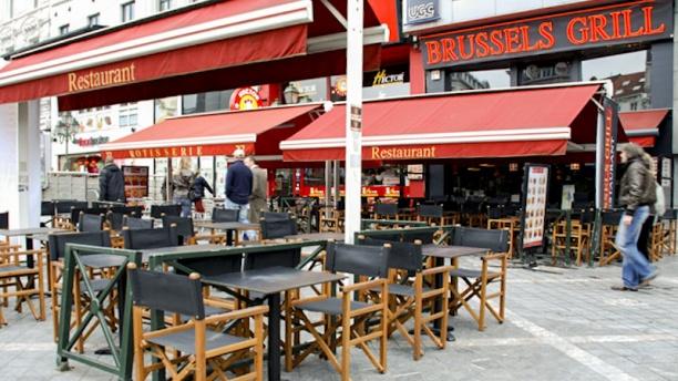 Brussels Grill Toison d'Or Vue entrée