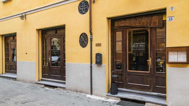 Entrata - Antica Osteria Le Mura, Bologna
