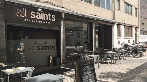 All Saints Restaurant e Bar Fachada