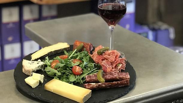 BiboVino bar à vin planche