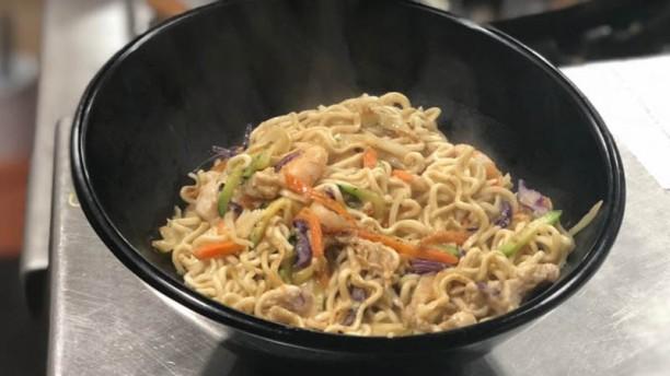 Thai noodles wok Sugerencia del chef