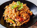 Thai noodles wok