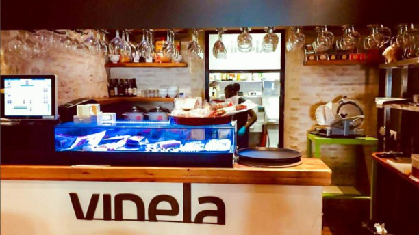 Vinela Street Food Vista del interior