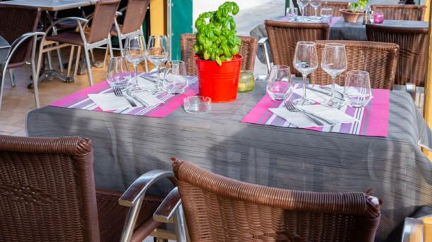 Restaurant des Tennis Vue de la salle