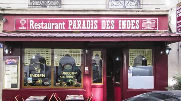 Le Paradis des Indes façade