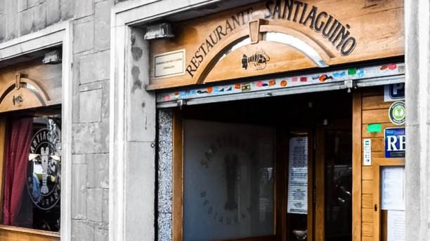 Restaurante Santiaguiño entrada