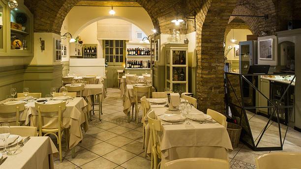 Osteria Via Mantova La sala