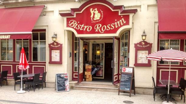 Bistro Rossini La devanture