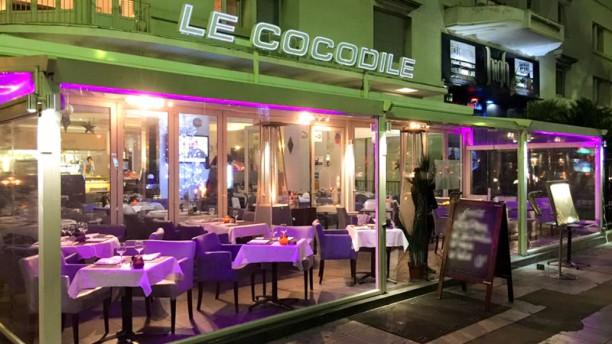 Le Cocodile Façade du restaurant