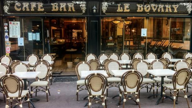 Le Bovary Devanture du restaurant
