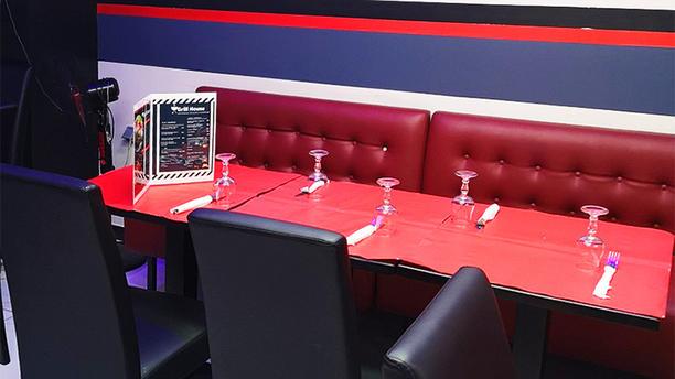 Grill House Sur La Braise Détail de la table