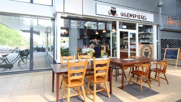 Cafe Brasserie Uilenspiegel Ingang