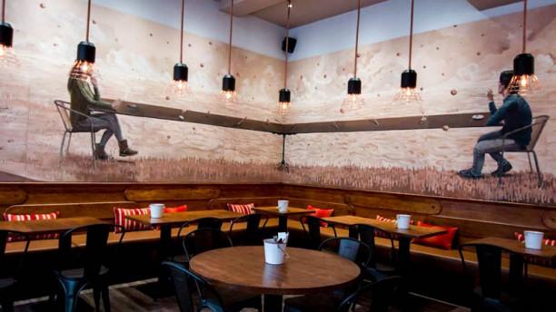 Sai Prego Steak house Vista da sala