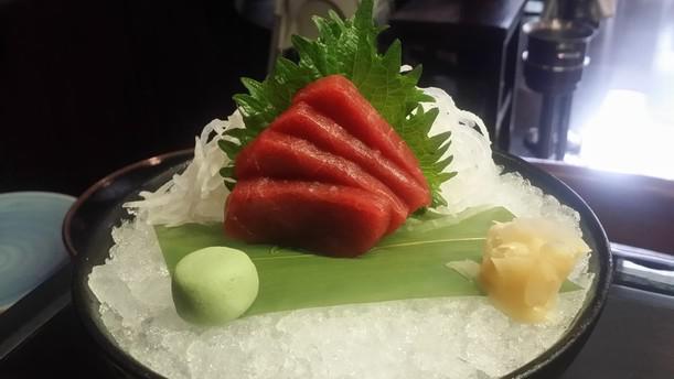 Maguro Sashimi atún