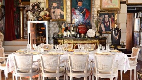 restaurant - La Cuisine Du Château De Verrière - Berrie