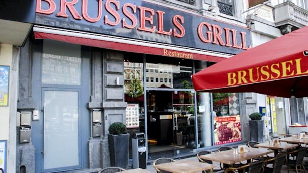 Brussels Grill Place Debrouckere Vue entrée
