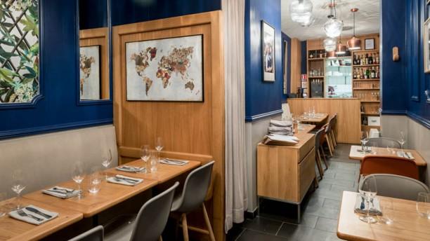 Les Tables d'Augustin Vue d'entrée du restaurant