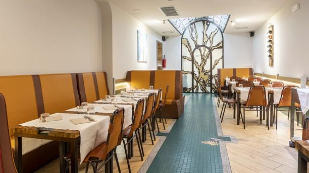 Saudade Brazilian Restaurant Vista della sala