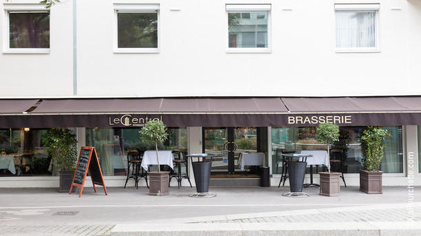 Brasserie Le Central devanture