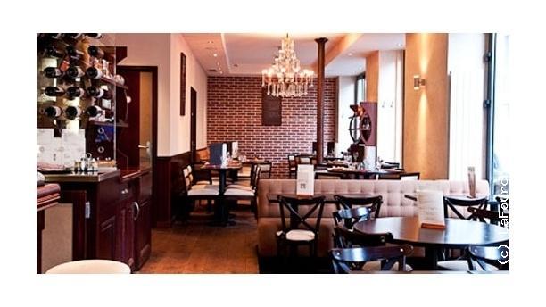 Martha's Café Vue de la salle