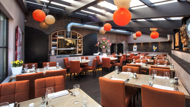 Restaurant Fort H Restaurantzaal