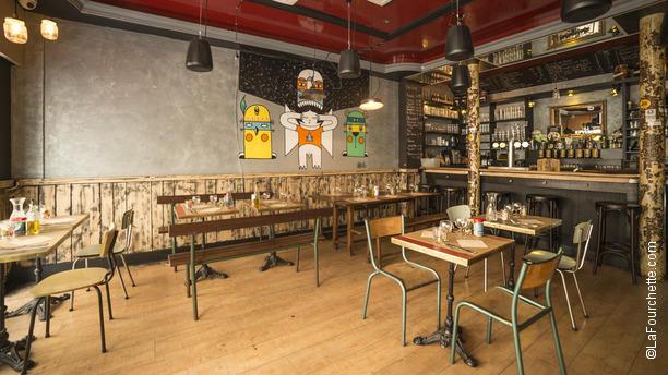 restaurant la petite chaufferie paris 75010 op ra. Black Bedroom Furniture Sets. Home Design Ideas
