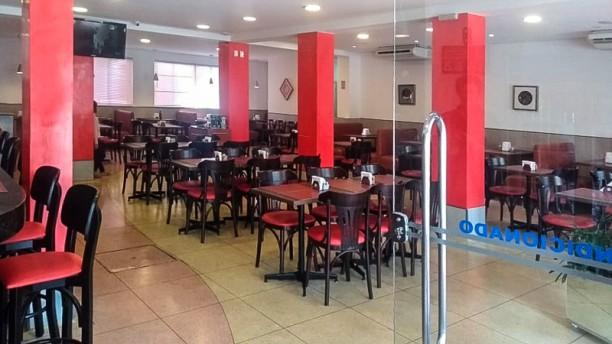 Damalgo Restaurante e Lanchonete Sala