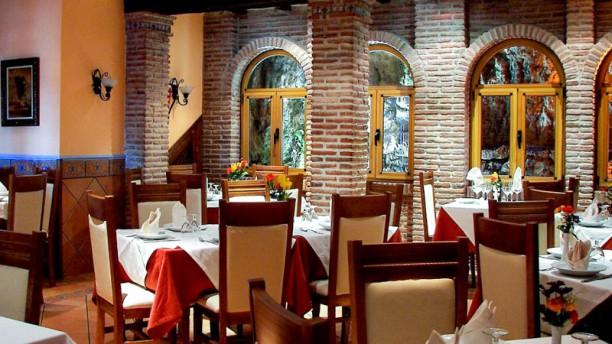 Restaurante El Sol Vista del interior