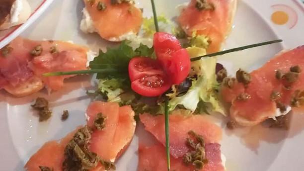 Comer con Arte Tostas de salmón