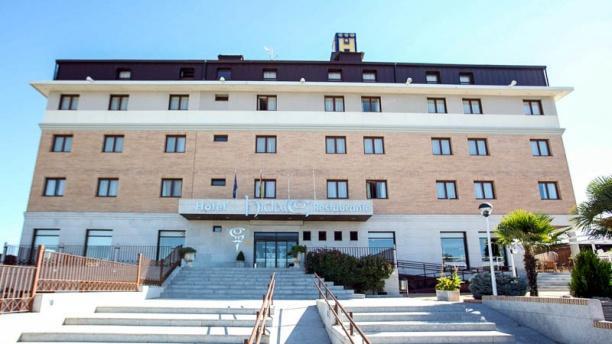 Hotel Hidalgo Vista exterior