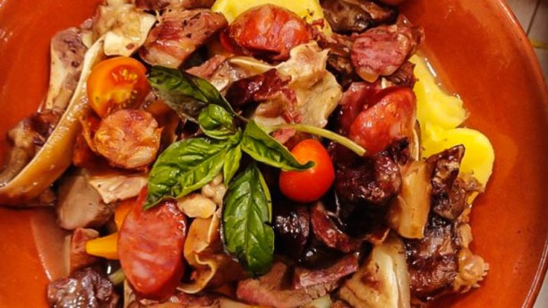 Casa Paraíso 2 sugestão prato