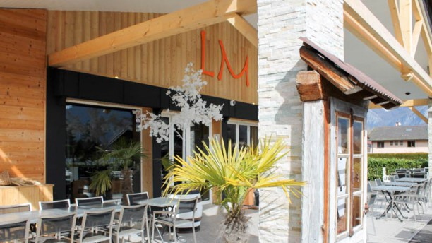 LM - Lac et Montagne restaurant Bio Terrasse restaurant lac annecy