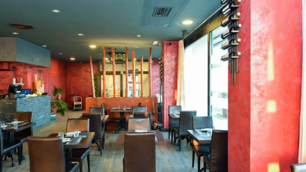 Sushi e Involtini Vista sala
