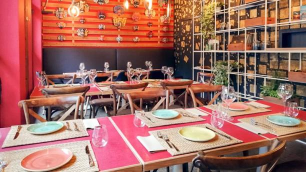 Aliya Lanka Il ristorante