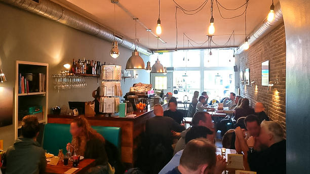 Brasserie Het Kasteeltje Het restaurant