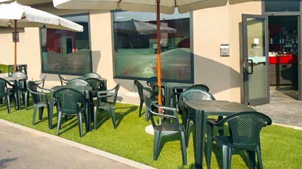 Sisters Pizza & Coffee Vista della terrazza
