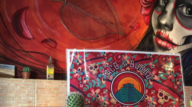 Taco & Burro Maya Detalle