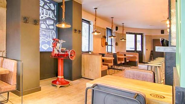 Be Burger Waterloo Salon du restaurant