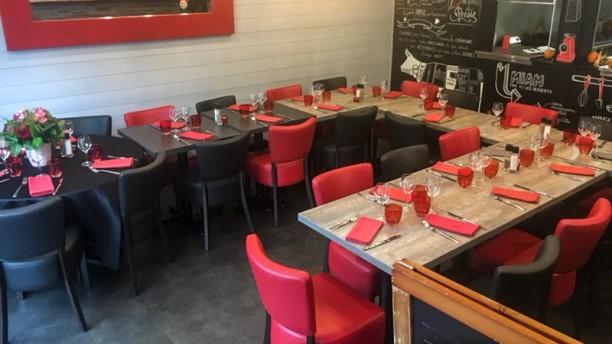 La Gourmandine Salle du restaurant