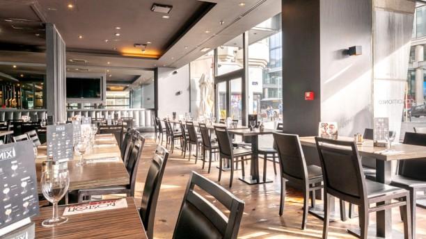 Boston Steak House Rogier Vue salle