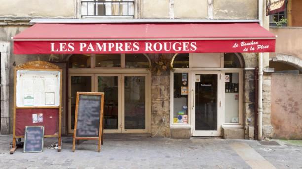 Les Pampres Rouges façade