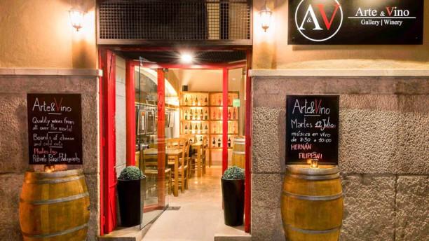 Arte&Vino Vista entrada