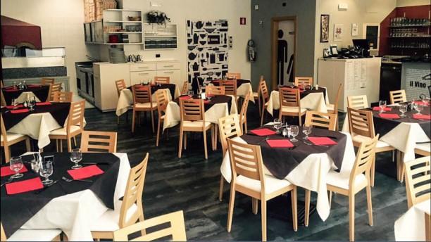 Doppiozero Ristorante Pizzeria Vista sala