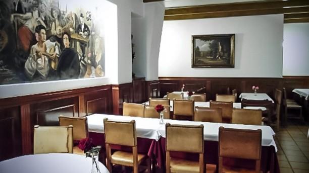 Restaurante Dos Bons Amigos sala