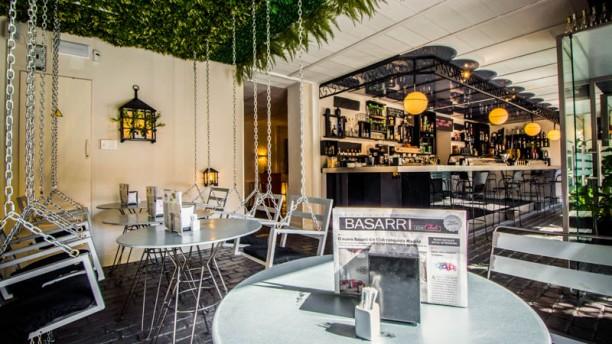Basarri Restaurante Gin Club Columpios y Barra del Gin Club