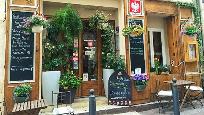Devanture - Restaurant Polonais Un Coin De Bonheur, Marseille