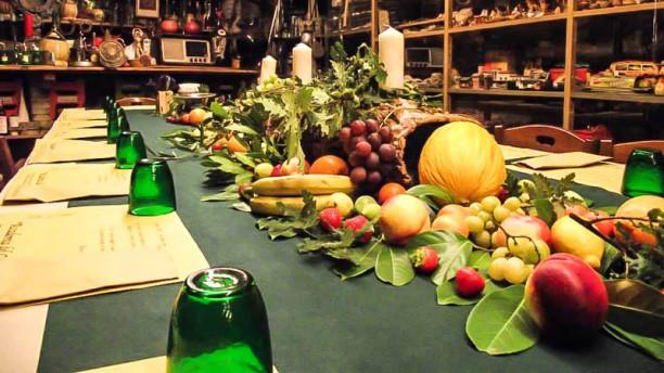 Accademia del coccio Vista tavolo