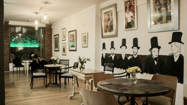 Café Pombo Vista sala